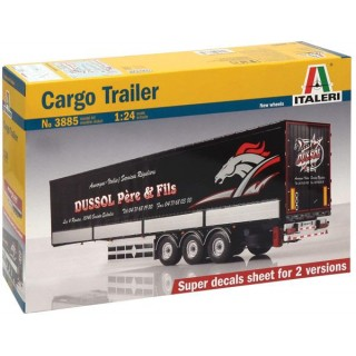 Model Kit návěs 3885 - CARGO TRAILER (1:24)
