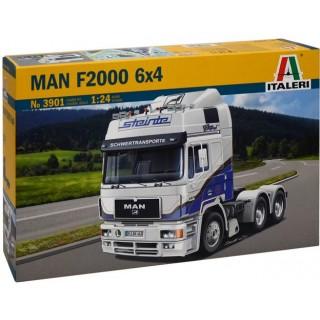 Model Kit truck 3901 - MAN F2000 6x4 (1:24)