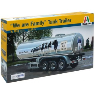 "Model Kit návěs 3911 - CLASSIC TANK TRAILER ""We are family"" (1:24)"