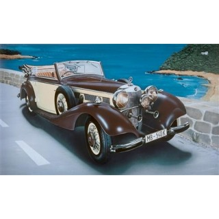 Model Kit auto 3701 - MERCEDES BENZ 540K (1:24)