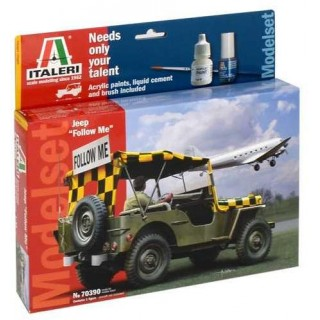 "Model Set military 70390 - 1:35 JEEP ""FOLLOW ME"" (1:35)"