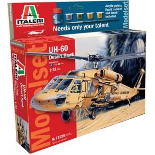 Model Set vrtulník 71025 - 1:72 UH 60 Desert Hawk (1:72)