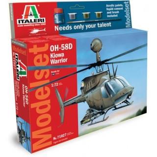 Model Set vrtulník 71027 - 1:72 OH 58D Kiowa Warrior (1:72)