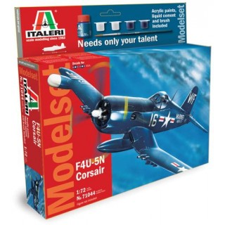 Model Set letadlo 71044 - 1:72 F4U-5N Corsair (1:72)