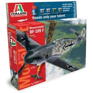 Model Set letadlo 71053 - 1:72 BF-109F (1:72)