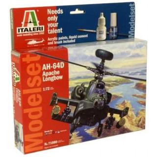 Model Set vrtulník 71080 - AH-64D Apache Longbow (1:72)