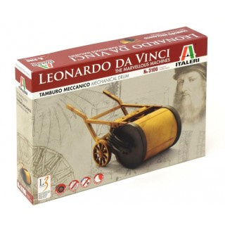 Leonardo Da Vinci 3106 - MECHANICAL DRUM (22,5 cm)