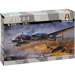 Model Kit letadlo 1314 - BF 110 G-4 HISTORIC UPGRADE (1:72)