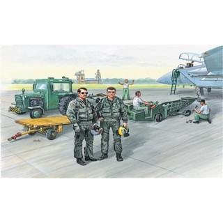 Model Kit figurky 2629 - AIRCRAFT SUPPORT GROUP (1:48)