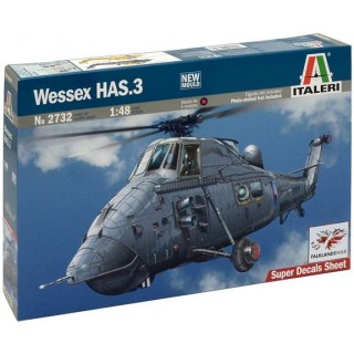 Model Kit vrtulník 2732 - WESSEX HAS.3 (1:48)