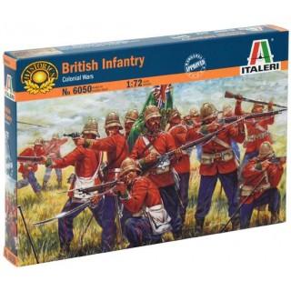 Model Kit figurky 6050 - ZULU WARS - BRITISH INFANTRY (1:72)