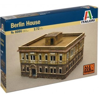 Model Kit budova 6086 - WWII- BERLIN HOUSE (1:72)