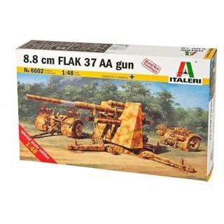 Model Kit military 6602 - 8.8 CM. FLAK 37 AA GUN (1:48)