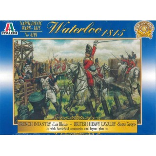 Wargames hra 6101 - HIST.BATTLE GAME SET: WATERLOO 1815 (1:72)