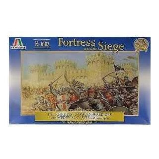 Wargames hra 6102 - BATTLE GAME SET SIEGE OF THE CASTLE (1:72)