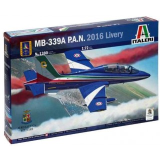 Model Kit letadlo 1380 - MB 339 P.A.N. 2016 Livery (1:72)