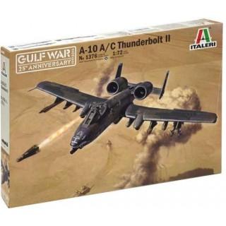 Model Kit letadlo 1376 - A-10 A/C THUNDERBOLT ll - GULF WAR(1:72)