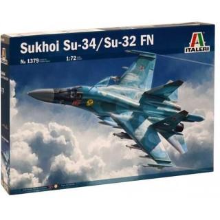 Model Kit letadlo 1379 - SUKHOI SU-34/SU-32 FN (1:72)