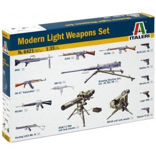 Model Kit doplňky 6421 - MODERN LIGHT WEAPON SET (1:35)
