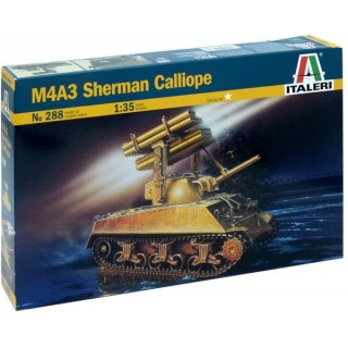 Model Kit tank 0288 - M4A3 Calliope (1:35)