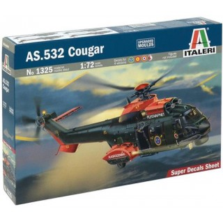 Model Kit vrtulník 1325 - As.532 Cougar (1:72)
