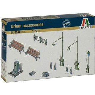 Model Kit doplňky 6146 - Urban Accesories (1:72)