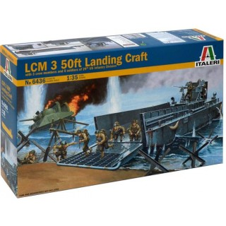 Model Kit loď 6436 - LCM Landing craft (1:35)