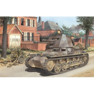 Model Kit military 6258 - PANZERJÄGER I 4.7cm PaK(t) EARLY PRODUCTION (SMART KIT) (1:35)