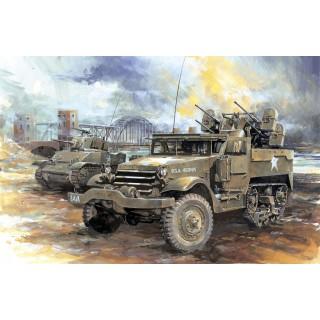 Model Kit military 6381 - M16 MULTIPLE GUN MOTOR CARRIAGE (SMART KIT) (1:35)