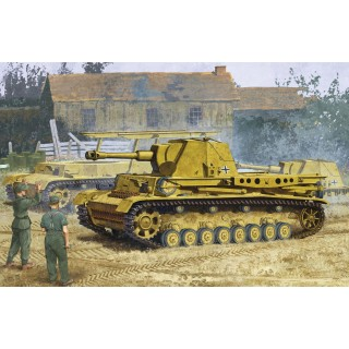 "Model Kit tank 6439 - HEUSCHRECKE IVb ""GRASSHOPPER"" 10.5cm le.F.H.18/6(Sf.) (1:35)"