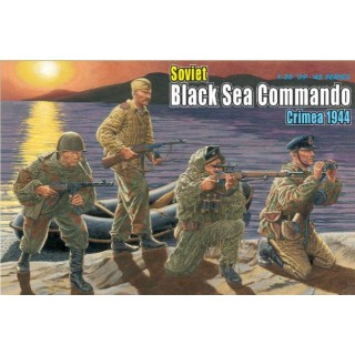 Model Kit figurky 6457 - SOVIET BLACK SEA COMMANDO, CRIMEA 1944 (1:35)