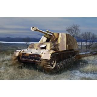 "Model Kit military 6535 - ""Hummel-Wespe"" le Pz. Haub auf Hummel Fahrgestell (1:35)"