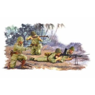 Model Kit figurky 6555 - JAPANESE INFANTRY PELELIU 1944 (1:35)