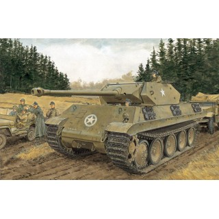 Model Kit tank 6561 - ERSATZ M10 (SMART KIT) (1:35)