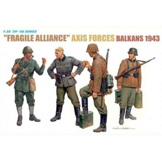 Model Kit figurky 6563 - FRAGILE ALLIANCE AXIS FORCES IN BALKANS 1943 (1:35)