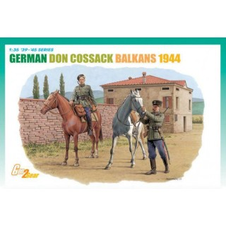 Model Kit figurky 6588 - GERMAN DON COSSACK, BALKANS 1944 (1:35)