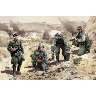 Model Kit figurky 6643 - LEIBSTANDARTE SS KLEISOURA PASS 1941 (1:35)