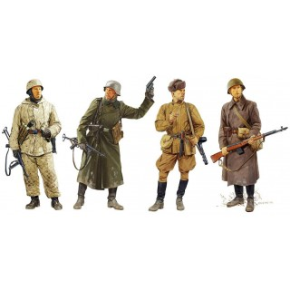 Model Kit figurky 6652 - Ostfront Winter Combatants 1942-43 (1:35)