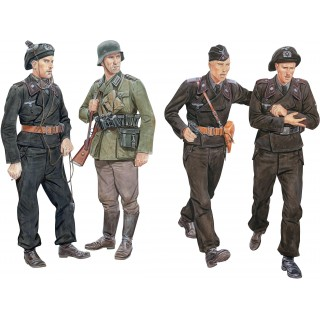 Model Kit figurky 6654 - Ghost Division Tank Crew Blitzkrieg 1940 (1:35)