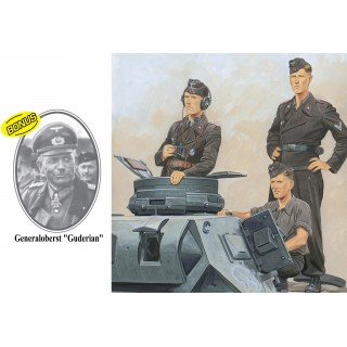 Model Kit figurky 6655 - PANZER-REGIMENT 7 10.PANZER-DIVISION SMOLENSK 1941 (1:35)