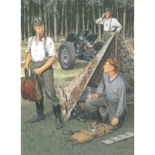 Model Kit figurky 6695 - GERMAN WEHRMACHT BIVOUAC (1:35)