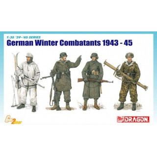 Model Kit figurky 6705 - WINTER GERMAN INFANTRY (1:35)