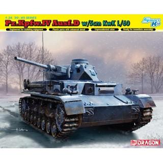 Model Kit tank 6736 - PZ.KPFW.IV Ausf.D w/5cm L/60 (1:35)