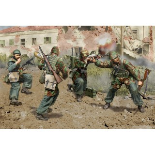Model Kit figurky 6741 - Italian Paratroopers Anzio 1944 (1:35)
