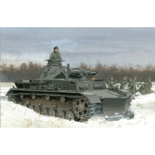 Model Kit military 6764 - PZ.KPFW. IV AUSF.B MIT GELÄNDEPFLUG (1:35)