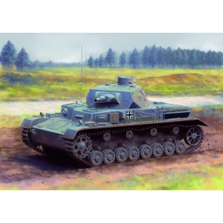 Model Kit tank 6816 - Pz.Kpfw.IV Ausf.A Up-Armored Version (1:35)