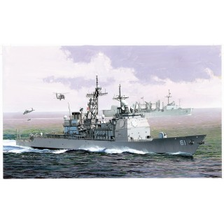 Model Kit loď 7067 - U.S.S. MONTEREY CG-61 AEGIS CRUISER (PREMIUM EDITION) (1:700)