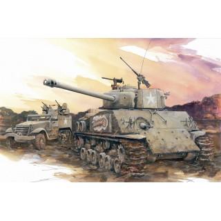 Model Kit tank 7302 - M4A3E8(76)W HVSS (1:72)