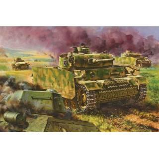 Model Kit tank 7323 - Pz.Kpfw.III Ausf.M w/Schürzen (1:72)