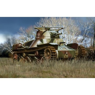 "Model Kit military 7404 - IJA TYPE 4 ""Ke-Nu"" LIGHT TANK (1:72)"